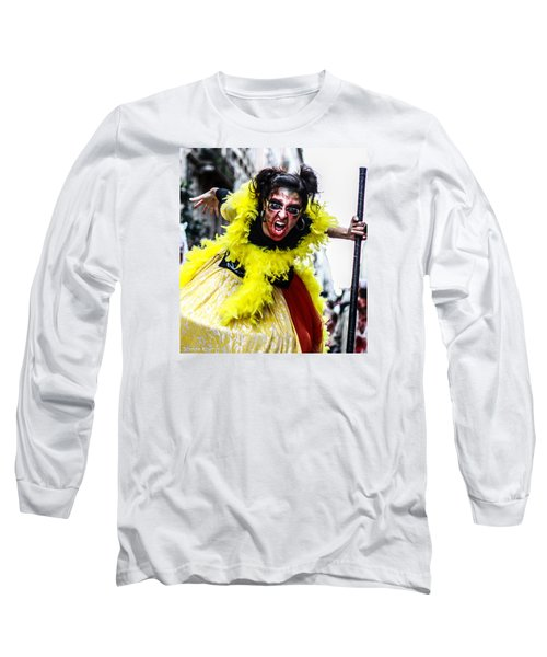 Long Sleeve T-Shirt featuring the photograph The Scream Crusher by Stwayne Keubrick