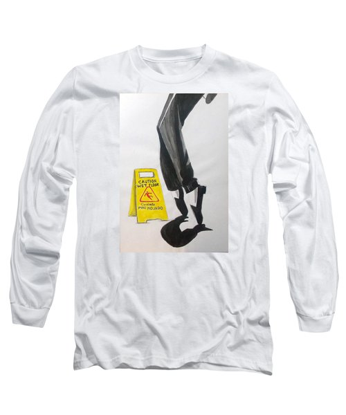 Long Sleeve T-Shirt featuring the painting The Secret El Secreto by Lazaro Hurtado