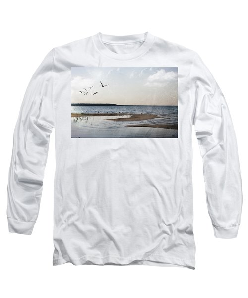 The Shallows At Whitefish Bay Long Sleeve T-Shirt