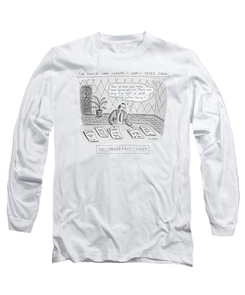 The Shop-at-home Channel's Lowest-rated Show: The Long Sleeve T-Shirt
