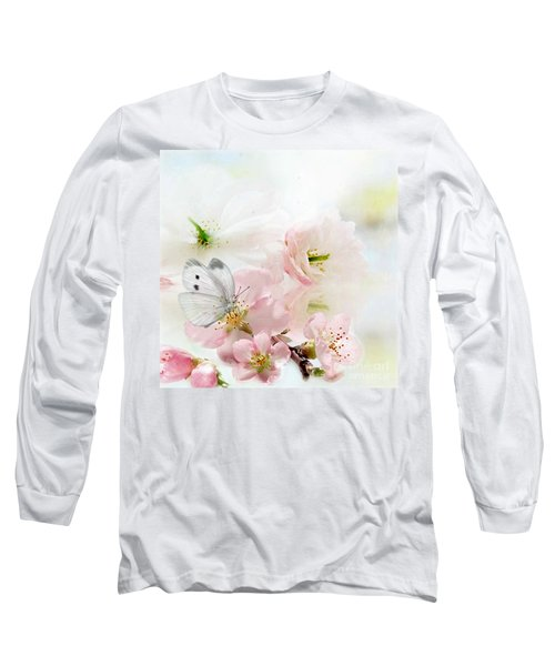 The Silent World Of A Butterfly Long Sleeve T-Shirt