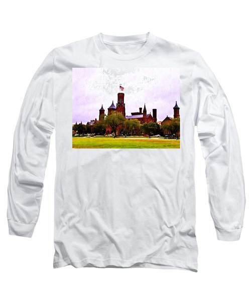 The Smithsonian Long Sleeve T-Shirt by Bill Cannon