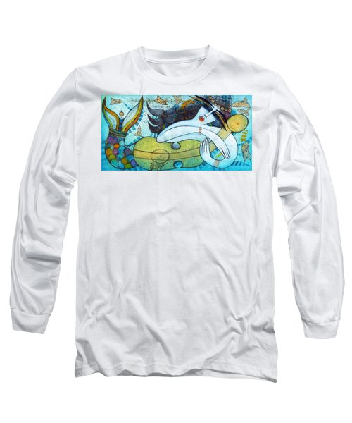 The Song Of The Mermaid Long Sleeve T-Shirt
