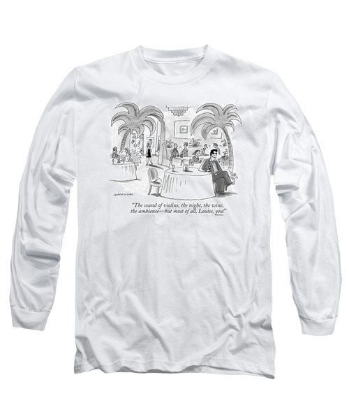The Sound Of Violins Long Sleeve T-Shirt