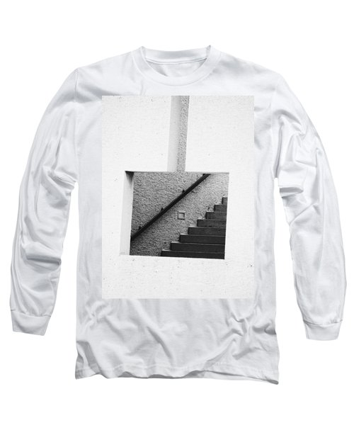 The Stairs In The Square Long Sleeve T-Shirt