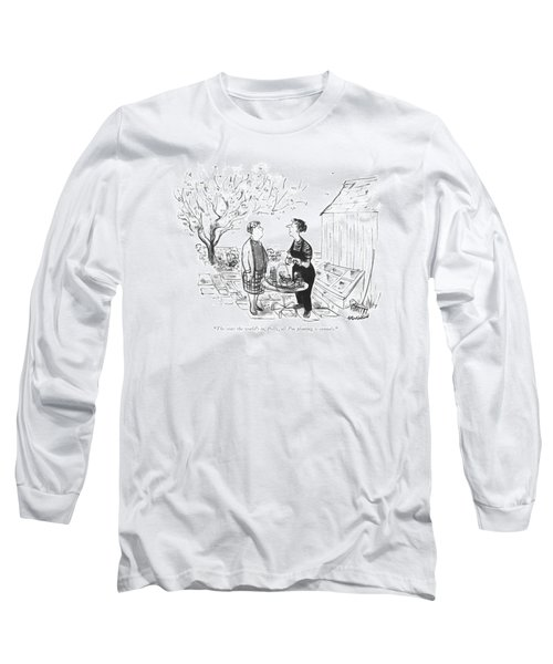 The State The World's Long Sleeve T-Shirt