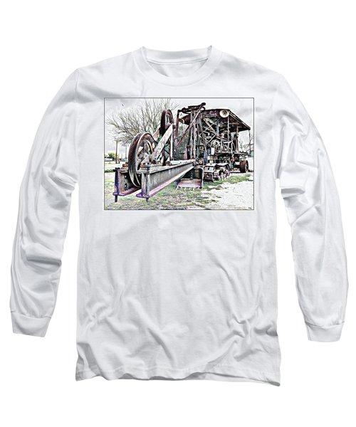 The Steam Shovel Long Sleeve T-Shirt