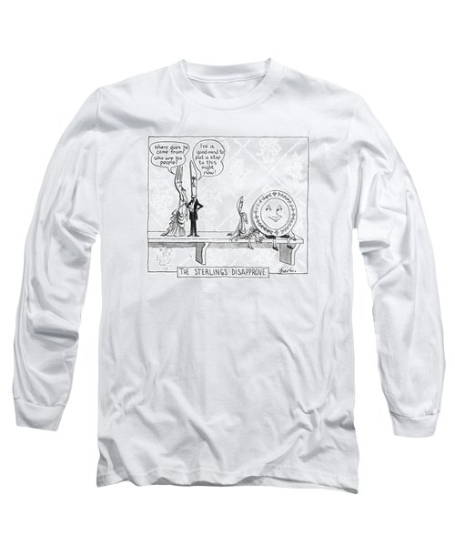 The Sterlings Disapprove: Long Sleeve T-Shirt