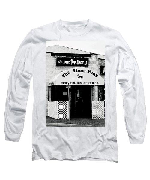 The Stone Pony Asbury Park Nj Long Sleeve T-Shirt