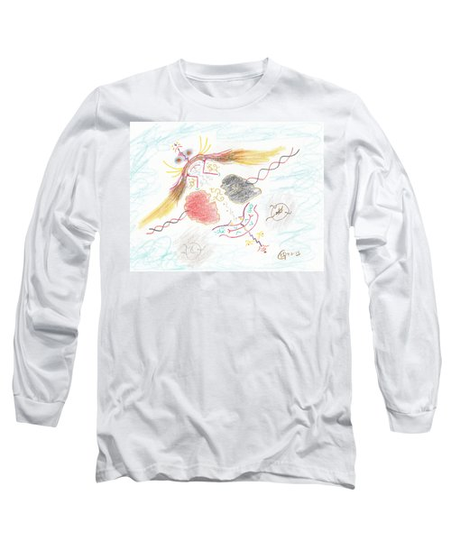 The Story Knows Best Long Sleeve T-Shirt by Mark David Gerson