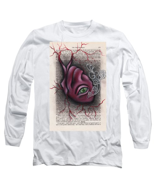 The Tell Tale Heart Long Sleeve T-Shirt by Abril Andrade Griffith