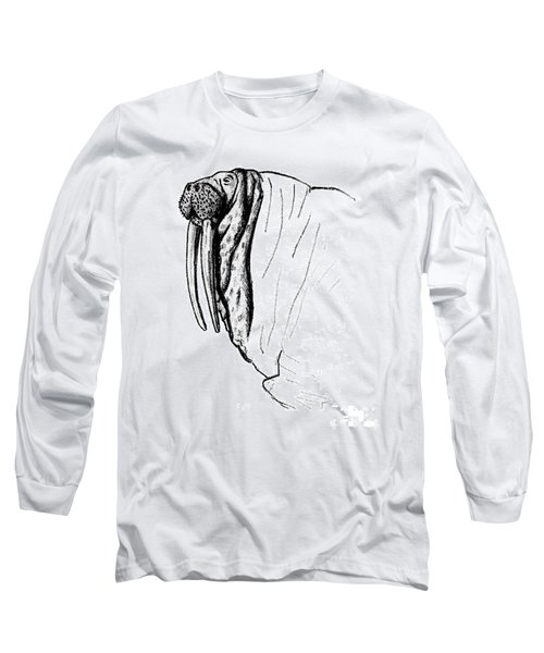 The Time Has Come The Walrus Said Long Sleeve T-Shirt