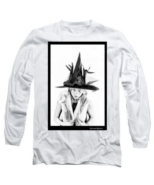 Long Sleeve T-Shirt featuring the photograph The Tiny Witch by Stwayne Keubrick