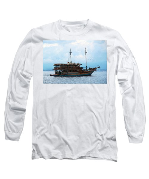 Long Sleeve T-Shirt featuring the photograph The Trip To Bunaken by Sergey Lukashin