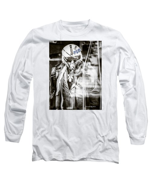 Long Sleeve T-Shirt featuring the photograph The U.s Airman by Stwayne Keubrick