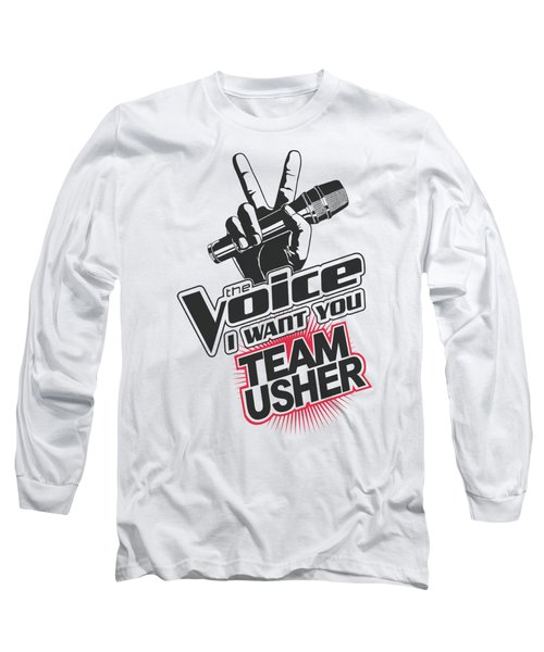 The Voice - Team Usher Long Sleeve T-Shirt by Brand A