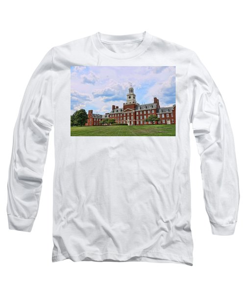 The Waksman Institute Of Microbiology Long Sleeve T-Shirt