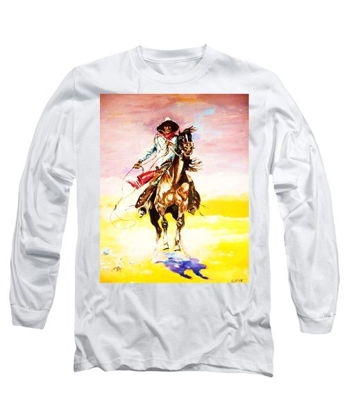 The Way Of The Vaquero Long Sleeve T-Shirt