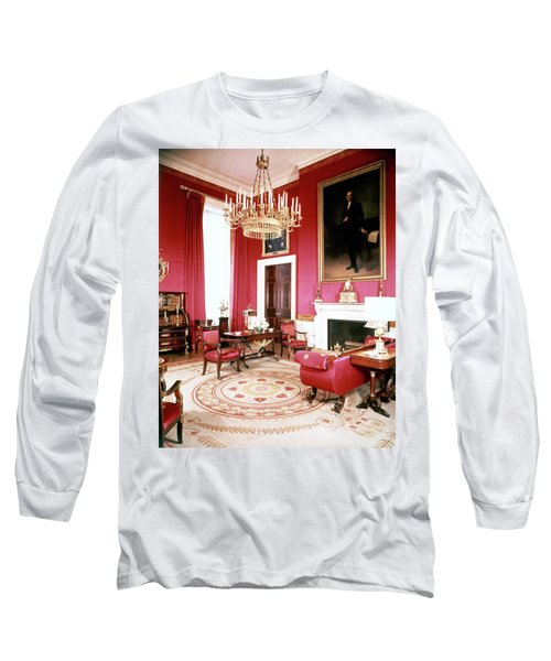 The White House Red Room Long Sleeve T-Shirt