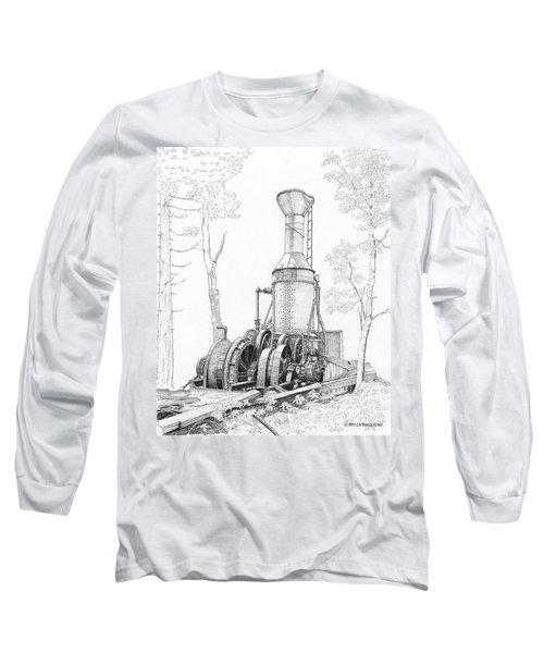 The Willamette Steam Donkey Long Sleeve T-Shirt