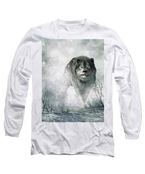 The Wolf Of Winter Long Sleeve T-Shirt
