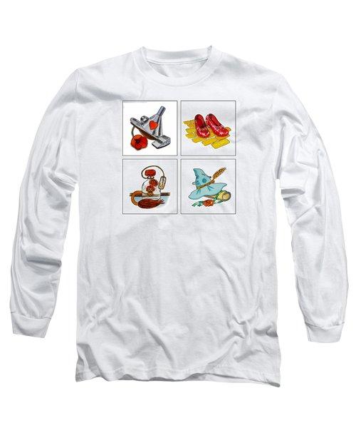 The Wonderful Wizard Of Oz Long Sleeve T-Shirt