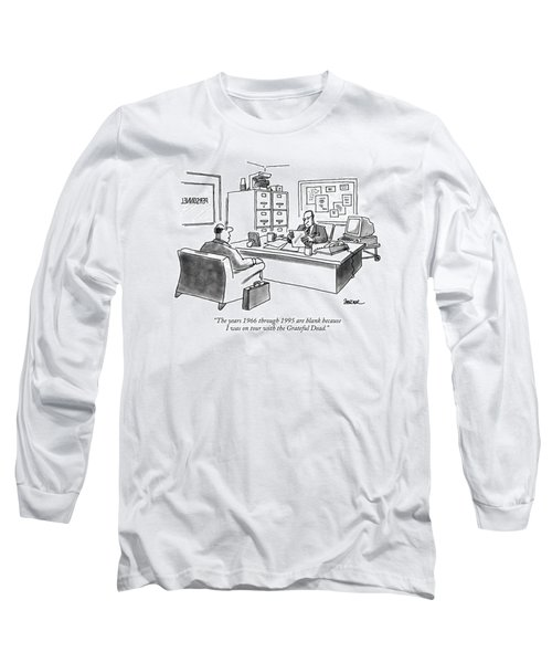 The Years 1966 Through 1995 Are Blank Because Long Sleeve T-Shirt