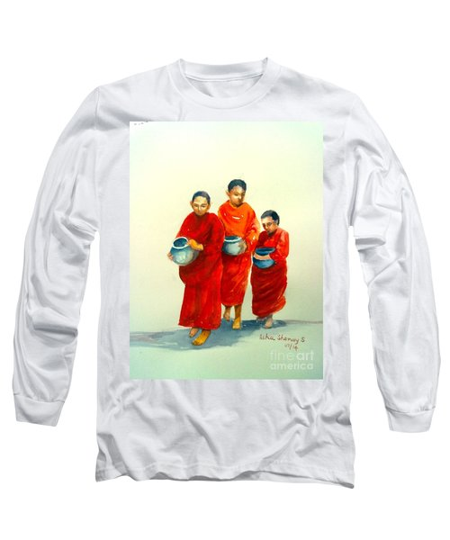 The Young Monks Long Sleeve T-Shirt