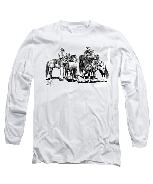 The Youngster Long Sleeve T-Shirt by Cheryl Poland