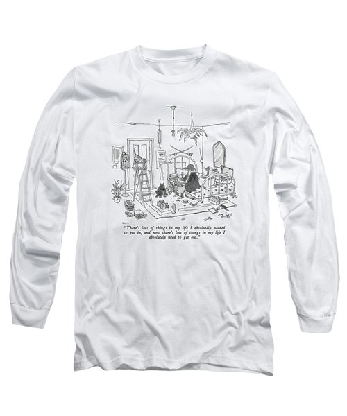 There's Lots Of Things In My Life I Absolutely Long Sleeve T-Shirt