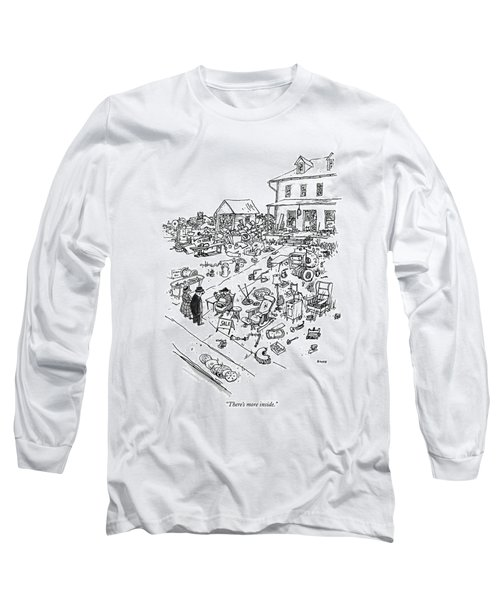 There's More Inside Long Sleeve T-Shirt