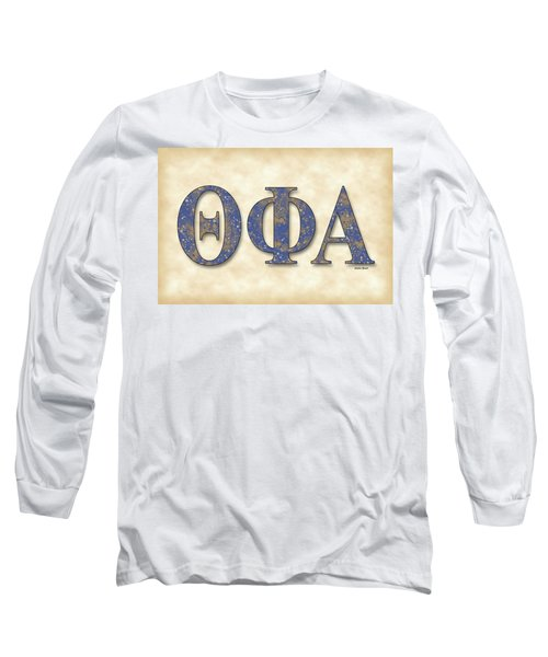 Theta Phi Alpha - Parchment Long Sleeve T-Shirt by Stephen Younts