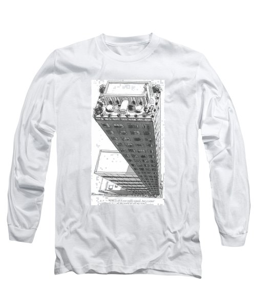 This Is All I Ever Really Wanted. Just A Corner Long Sleeve T-Shirt