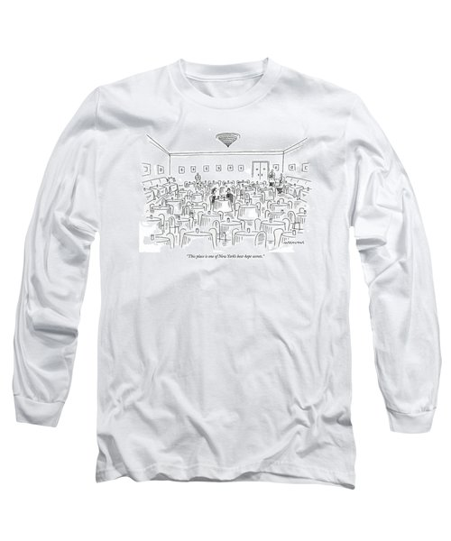 This Place Is One Of New York's Best-kept Secrets Long Sleeve T-Shirt