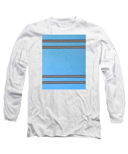 Long Sleeve T-Shirt featuring the painting Thought by Thomas Gronowski