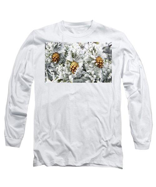 Three Frosty Cones Long Sleeve T-Shirt