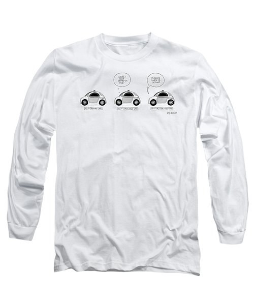 Three Google Cars Long Sleeve T-Shirt