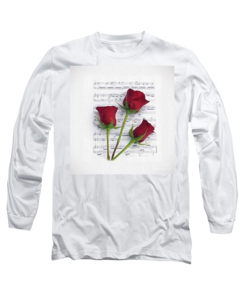 Three Rose Music Duvet Long Sleeve T-Shirt