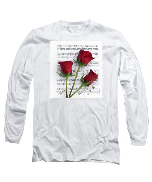 Three Rose Music Long Sleeve T-Shirt