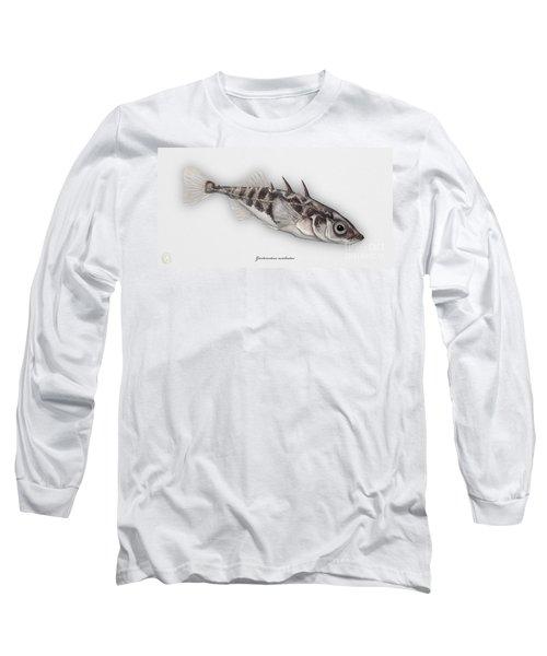 Three-spined Stickleback Gasterosteus Aculeatus - Stichling - L'epinoche - Espinoso - Kolmipiikki Long Sleeve T-Shirt