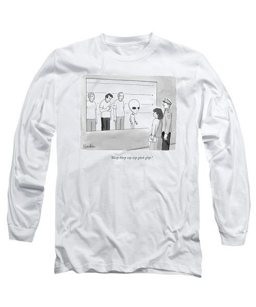 Three Suspects Long Sleeve T-Shirt