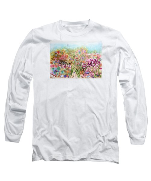 Thriving Ocean  Long Sleeve T-Shirt by Katherine Young-Beck
