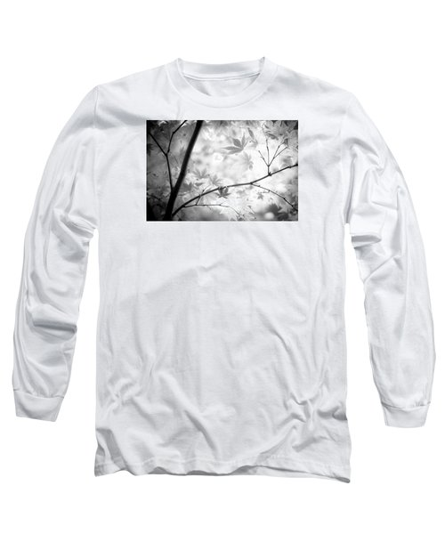 Long Sleeve T-Shirt featuring the photograph Through The Leaves by Darryl Dalton