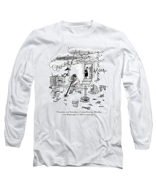 Thursdays And Saturdays Long Sleeve T-Shirt
