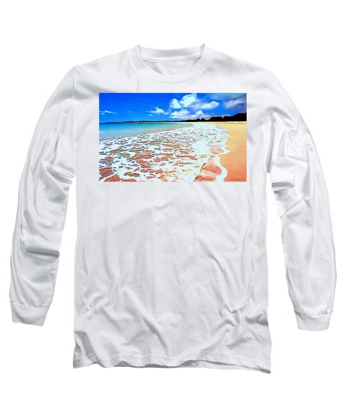 Tidal Lace Long Sleeve T-Shirt