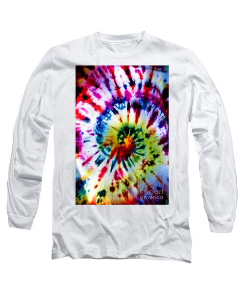 Tie Dyed T-shirt Long Sleeve T-Shirt