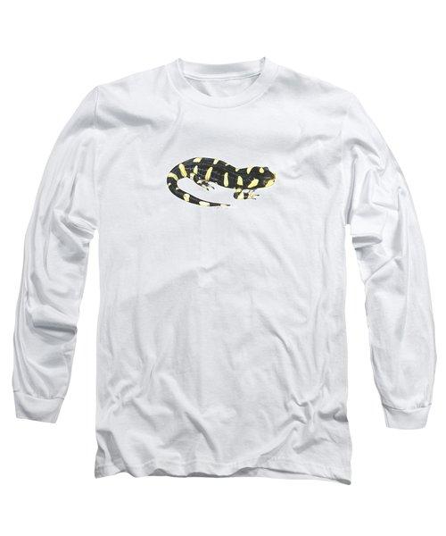 Tiger Salamander Long Sleeve T-Shirt by Cindy Hitchcock