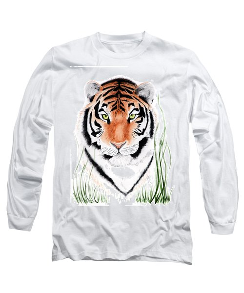 Tiger Tiger Where Long Sleeve T-Shirt
