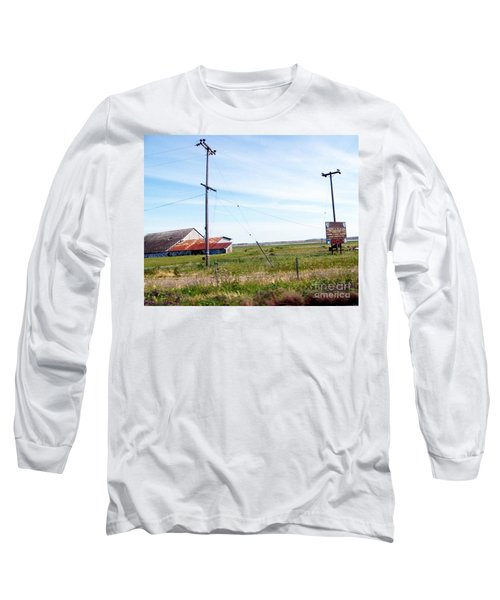 Long Sleeve T-Shirt featuring the photograph Time Passed By by Bobbee Rickard