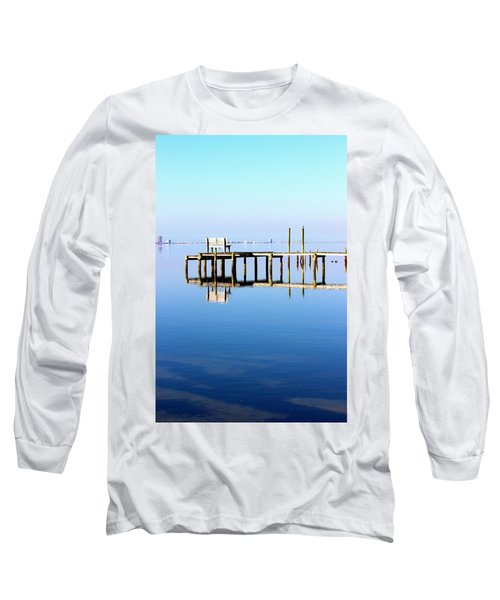 Time To Reflect Long Sleeve T-Shirt by Faith Williams